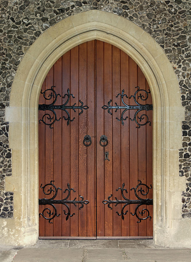Beautiful Church Door Photograph by Phototropic