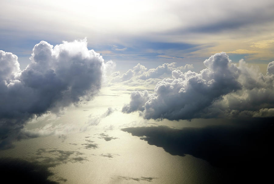 Beautiful Cloudscape Shortly After Photograph by Wolfgang steiner