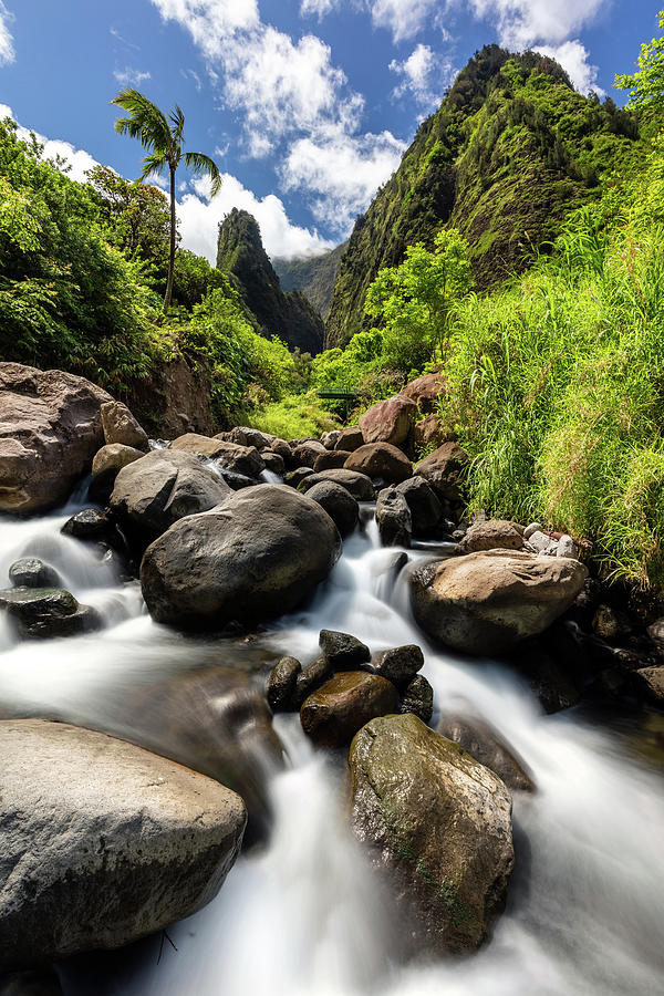 Beautiful Day at Iao Valley by Pierre Leclerc Photography