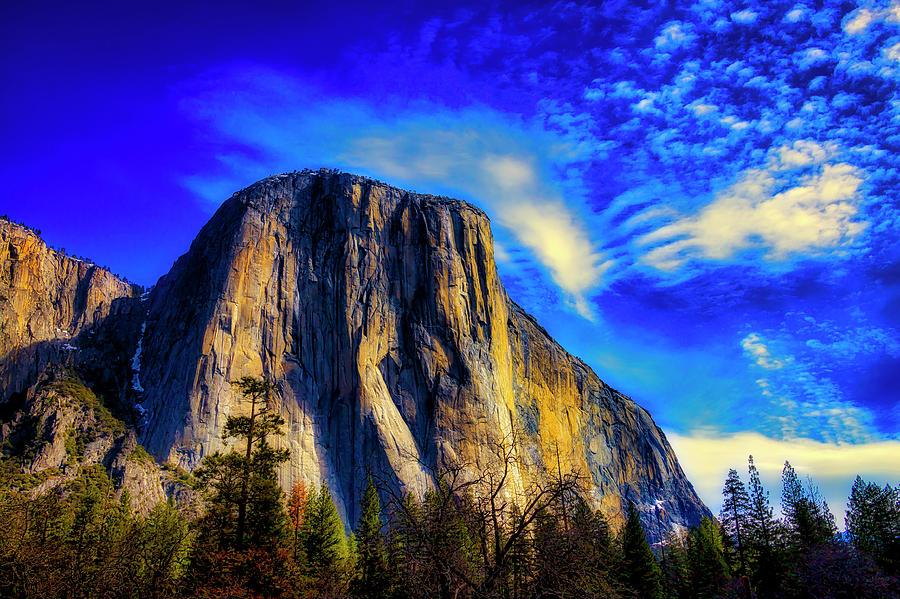 Yosemite Valley Photograph - Beautiful El Capitan by Garry Gay