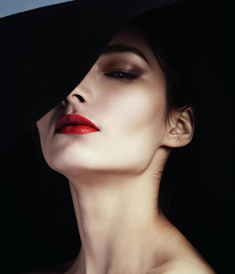 Beautiful Elegant Woman Photograph by Lambada