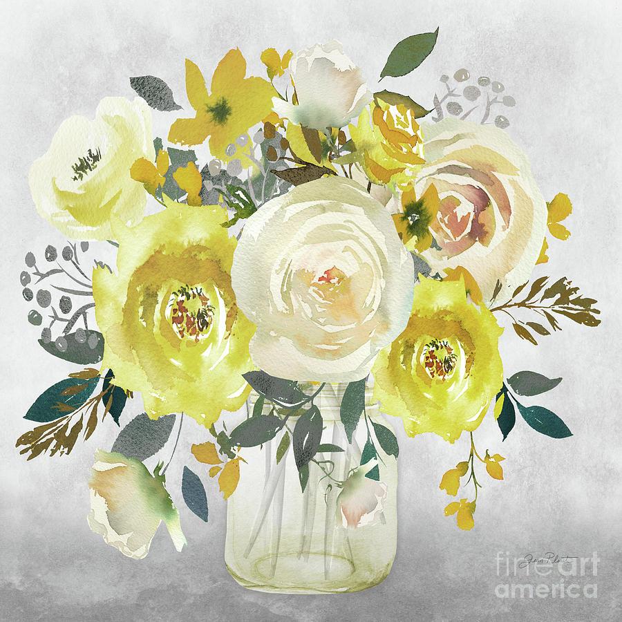 Beautiful Floral Bouquet D by Jean Plout