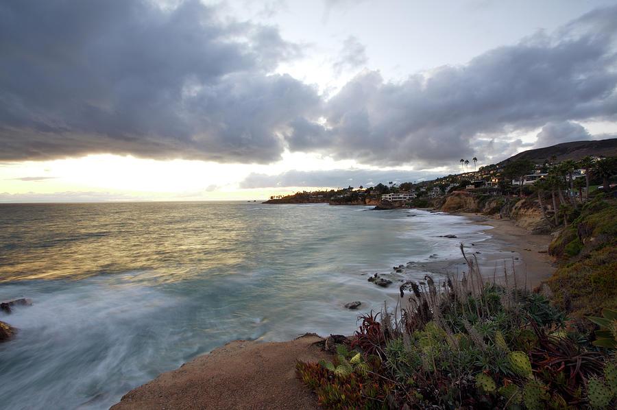 Laguna Beach Photograph - Beautiful Laguna Coast After Sunset by Ekash