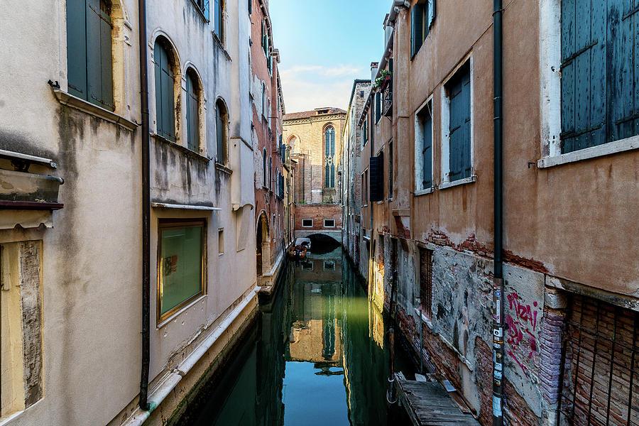 Venice Photograph - Beautiful light in Venice by Andrei Dima
