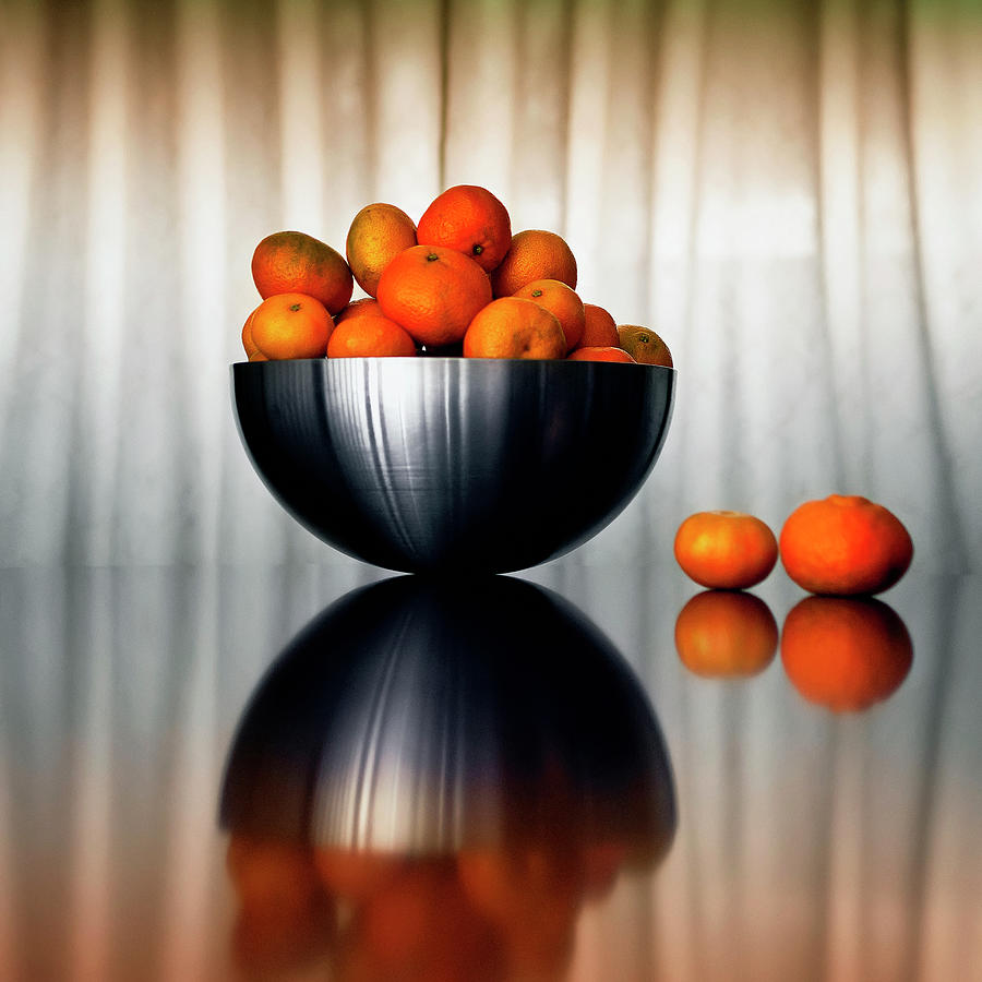 Beautiful Mandarins Photograph by By Carlos Cossio