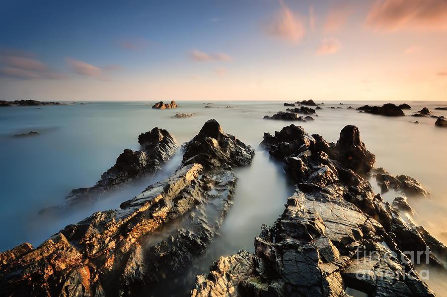 Beauty Photograph - Beautiful Nature Landscape Of by Izz Hazel