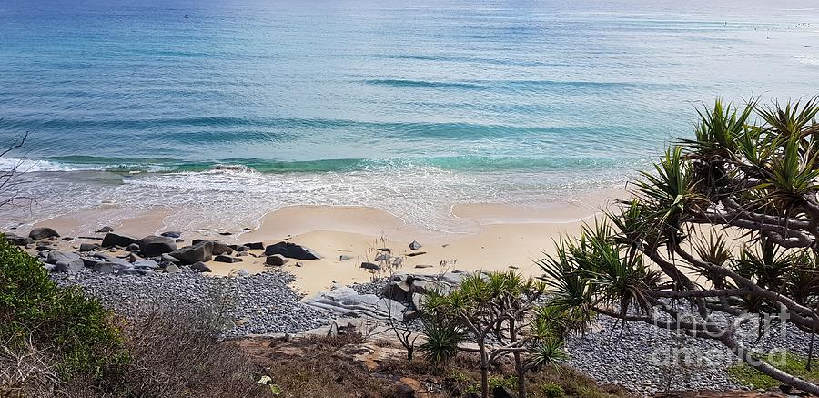 Beautiful Noosa Beach  by Cassy Allsworth