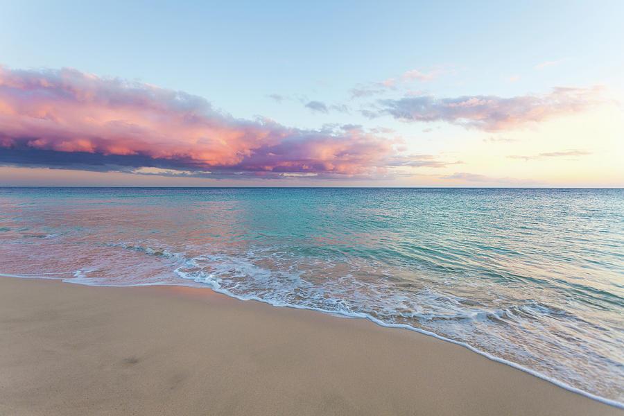 Beautiful Seascape, Beach And Ocean At Photograph by Zodebala