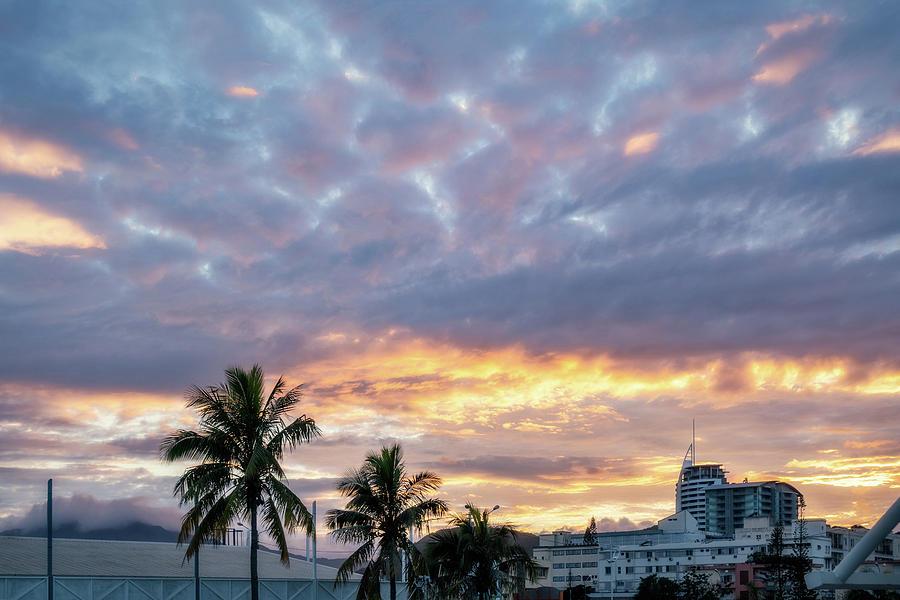 Beautiful Sunrise View in New Caledonia by Daniela Constantinescu