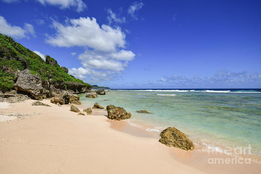 Beautiful Tagachang Beach  by Steven Liveoak