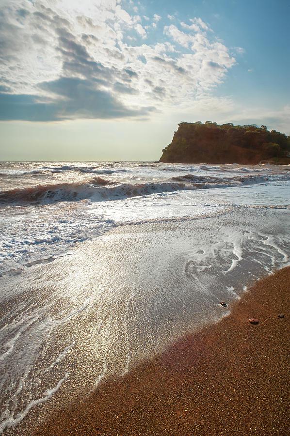 Beautiful Teignmouth Beach Photograph