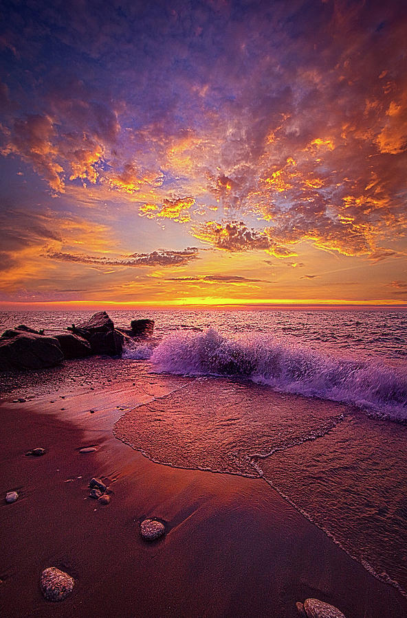 Life Photograph - Beautiful Things Never Ask For Attention by Phil Koch