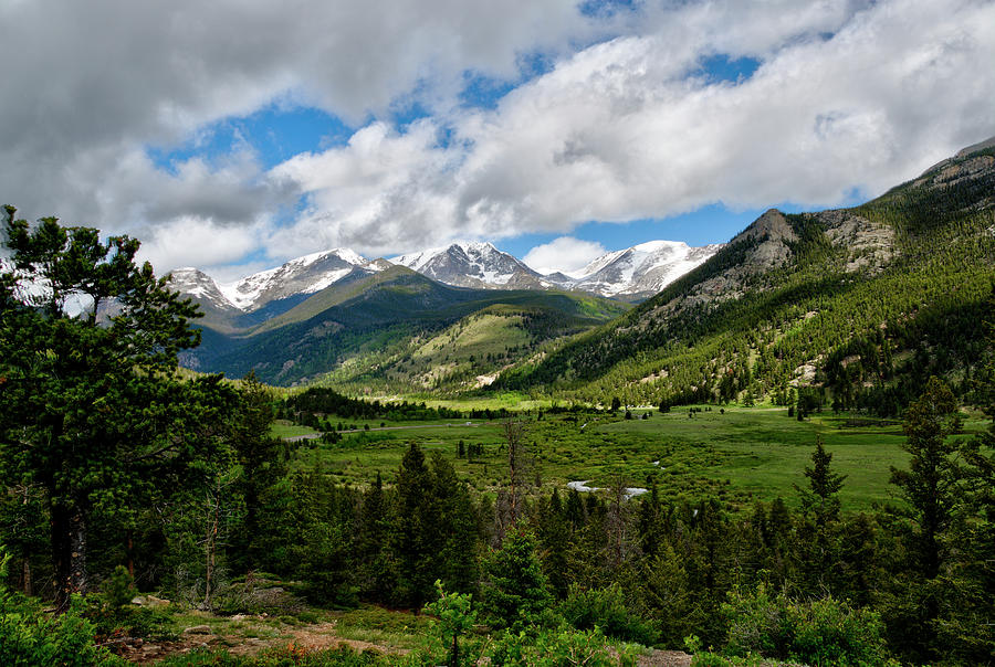 Beautiful valley in the Rockies by Dan Friend