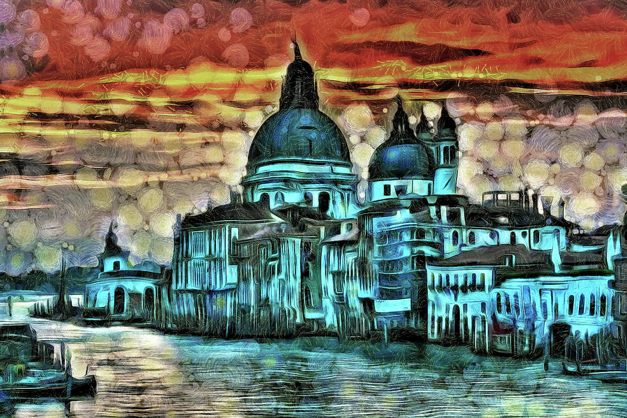 Beautiful Venice by Mad Artist