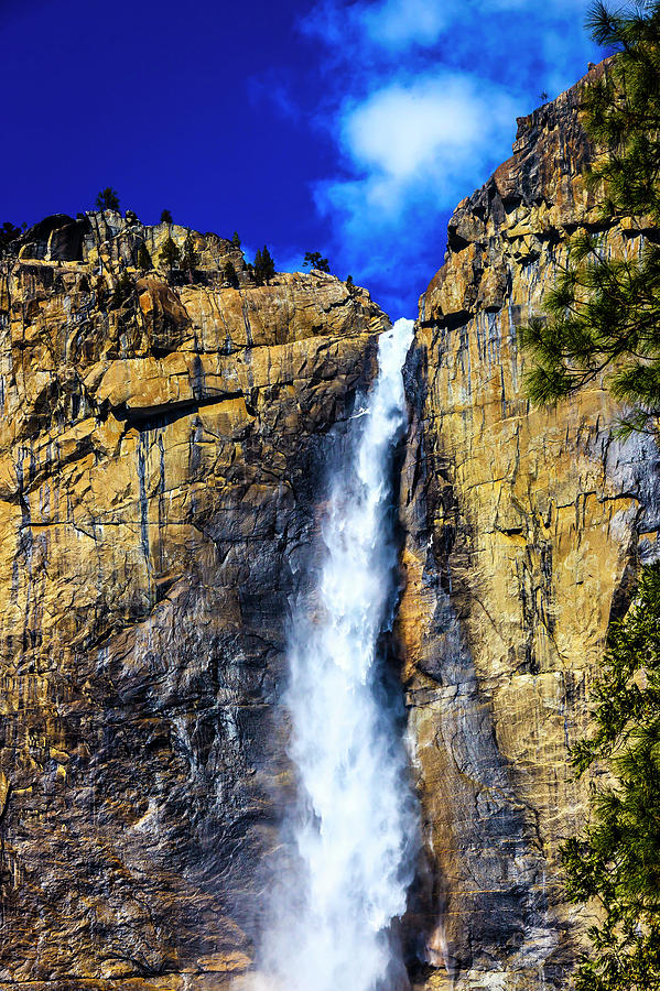 Beautiful Yosemite Upper Falls by Garry Gay