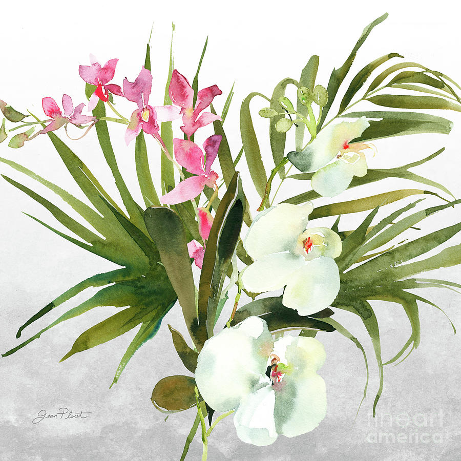 Beautifuls Orchids A by Jean Plout