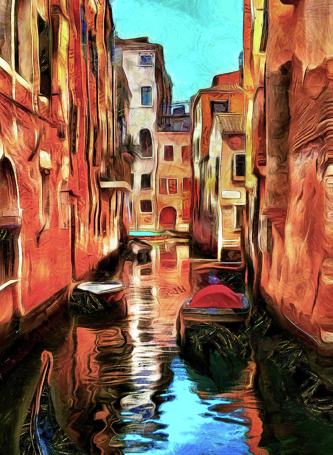 Beautifyl Day in Venice by Mad Artist