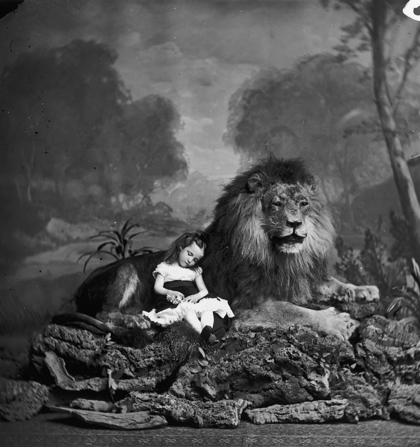 Beauty And The Beast Photograph by London Stereoscopic Company