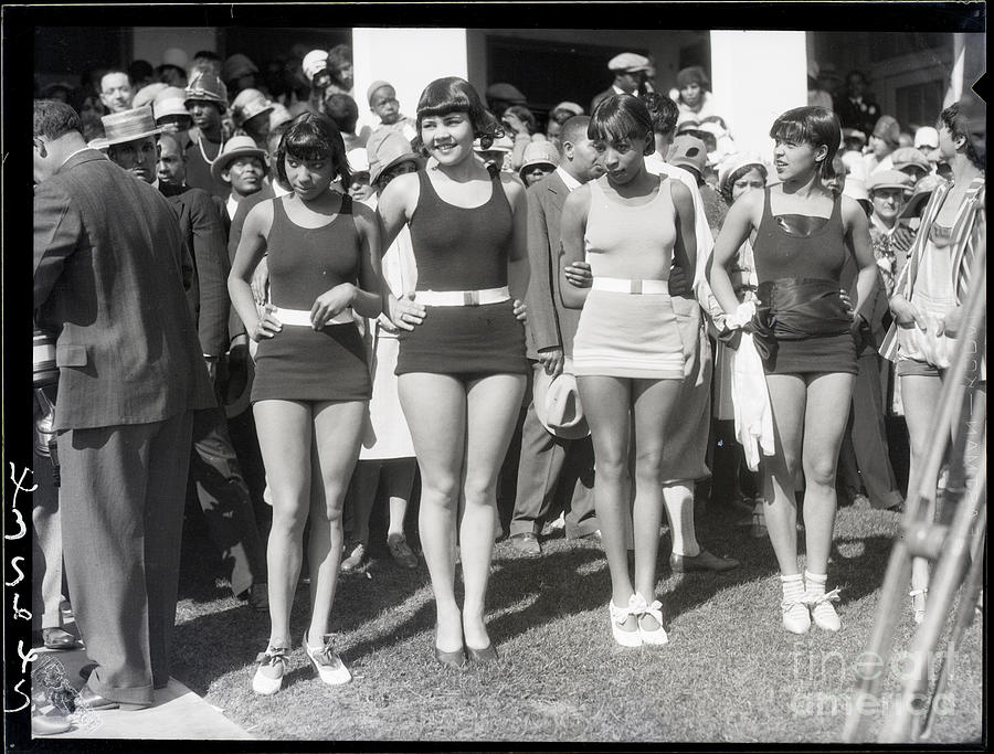 Beauty Contest Entries And Winner Photograph by Bettmann