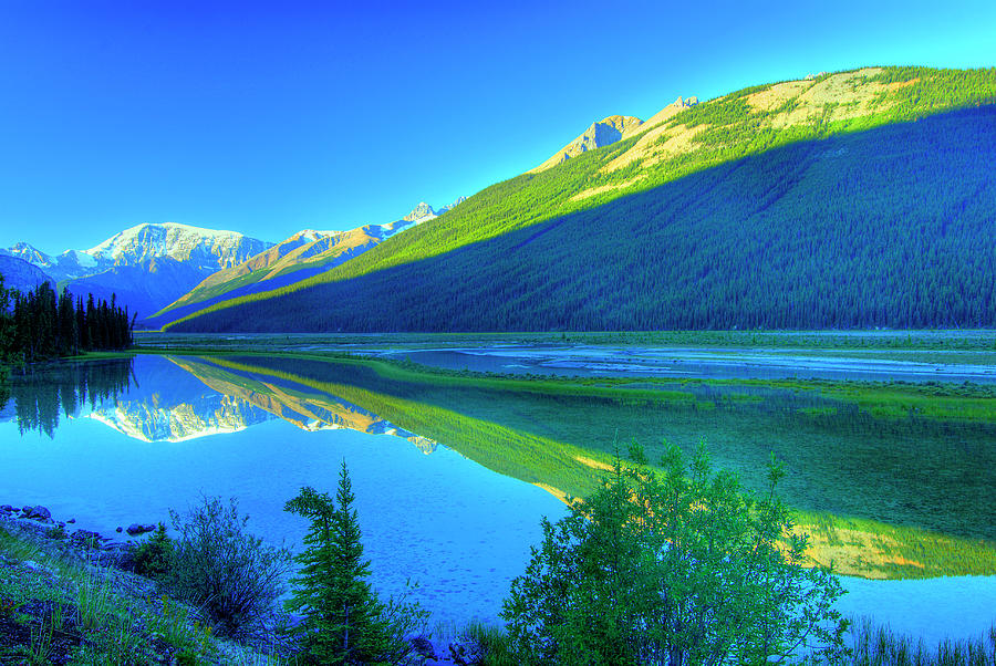 Beauty Creek, Jasper, Rocky Mountain Photograph by All Rights By Krishna.wu