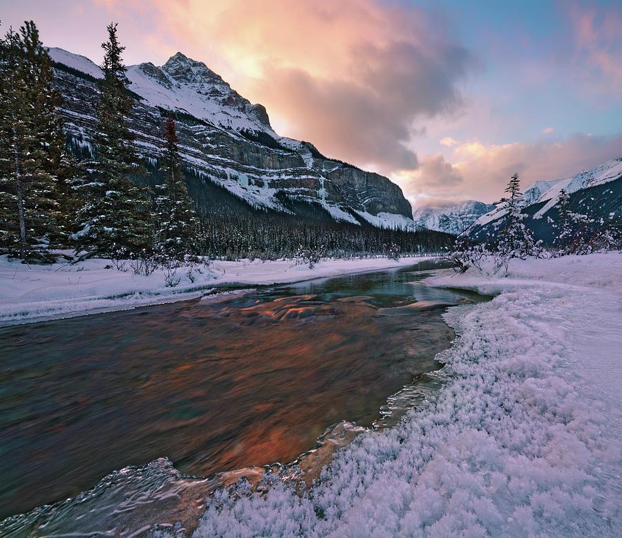 Beauty Creek Winter by Dan Jurak