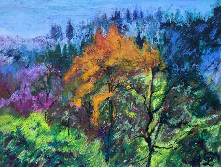 Beauty in the Forest Painting by Therese Legere