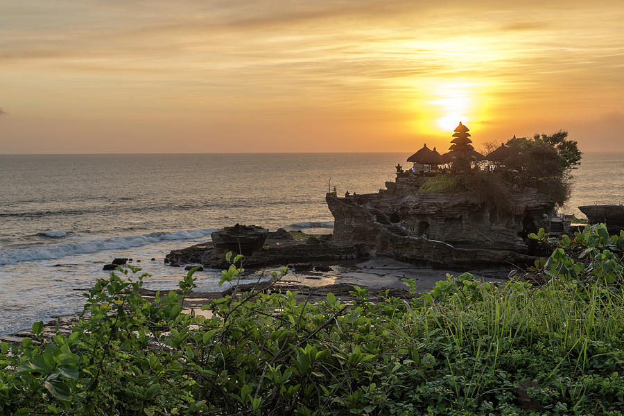 Beauty Of Tanah Lot Photograph