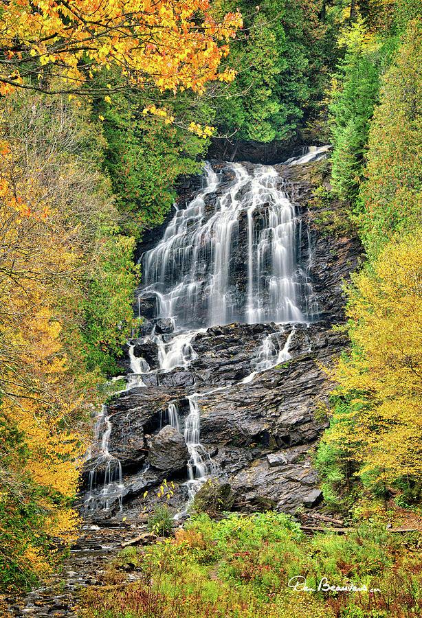 Beaver Brook Falls 8221 Photograph