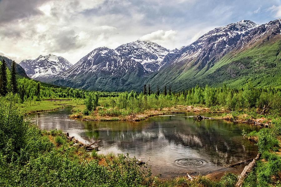 Beaver Pond, Eagle River AK by James Capo
