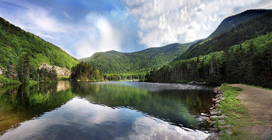 Beaver Pond in Woodstock New Hampshire by Nancy Griswold