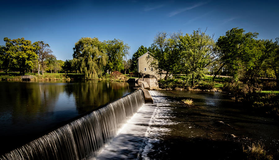 Beckman Mill park in the afternoon sun  by Sven Brogren