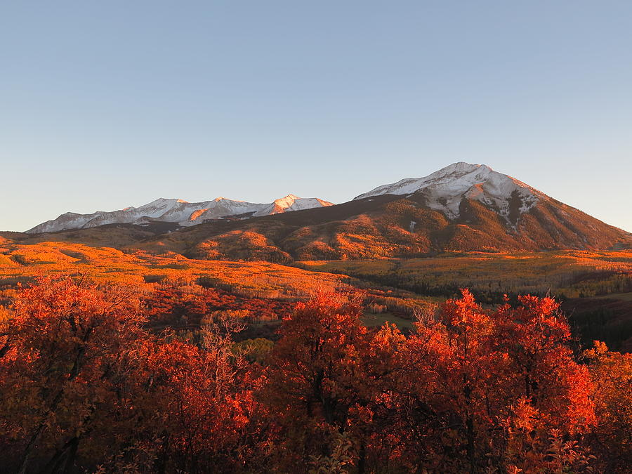 Crested Butte Photograph - Beckwith Beauty by Lori J Welch