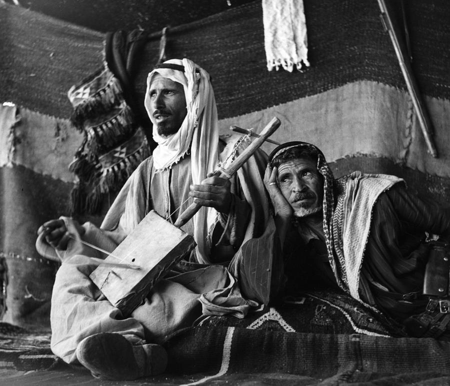 Bedouin Arabs Photograph by Three Lions