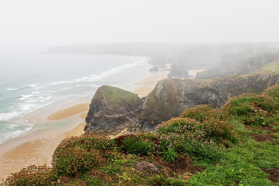 Bedruthan steps 11 by Chris Smith