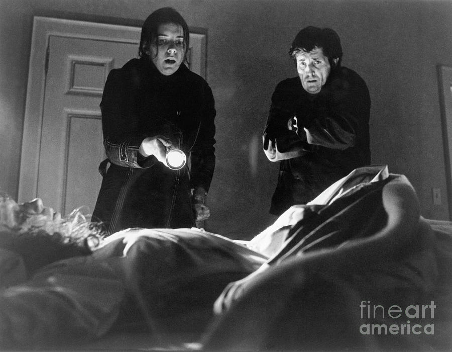 Bedside Scene From The Exorcist Photograph by Bettmann