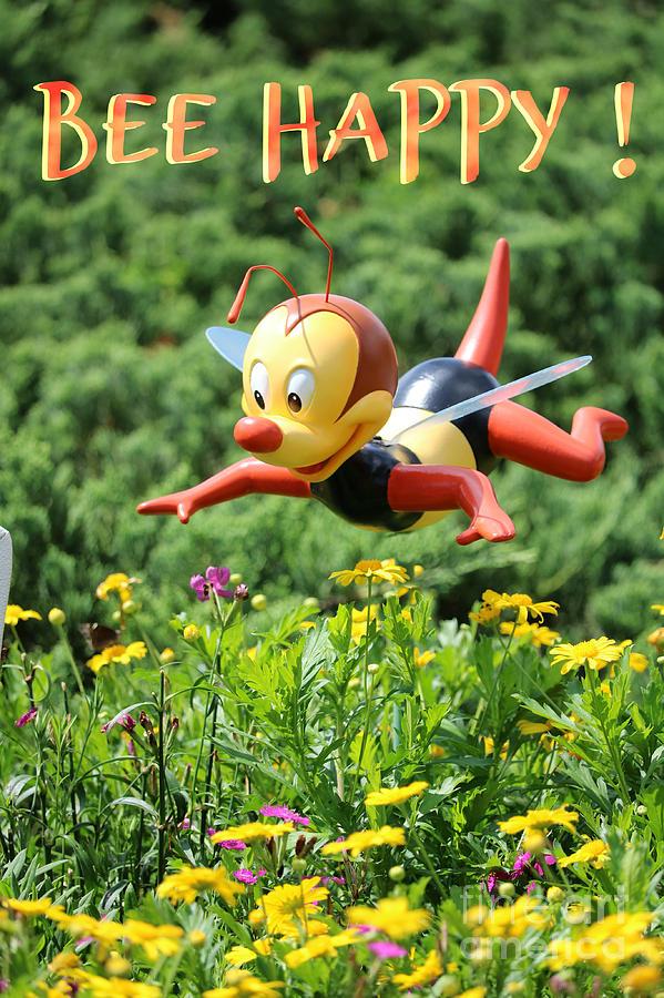 Bee Happy Photograph
