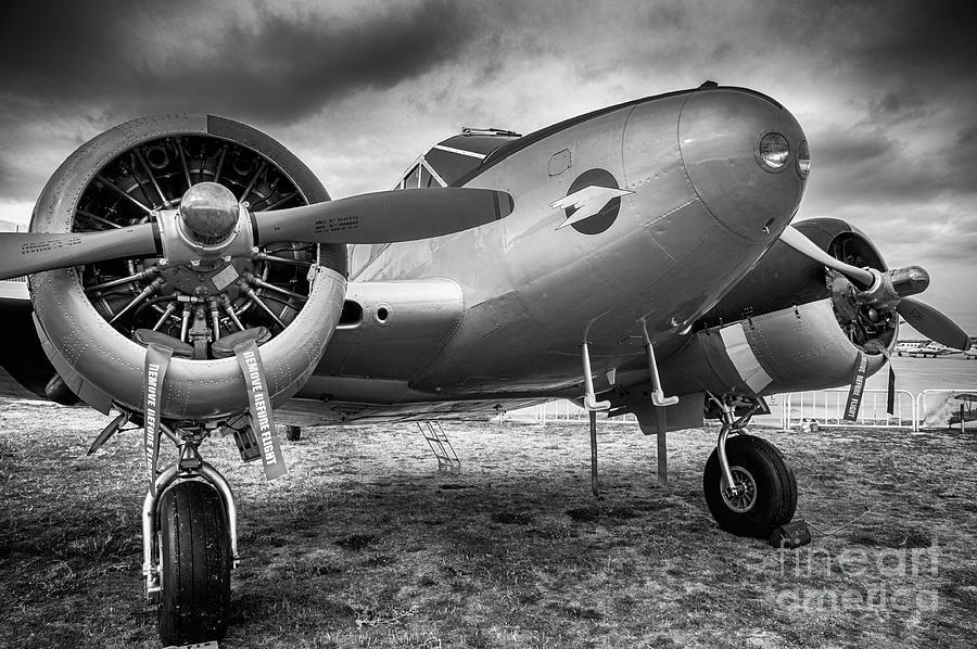 Beechcraft C-45  by Hernan Bua