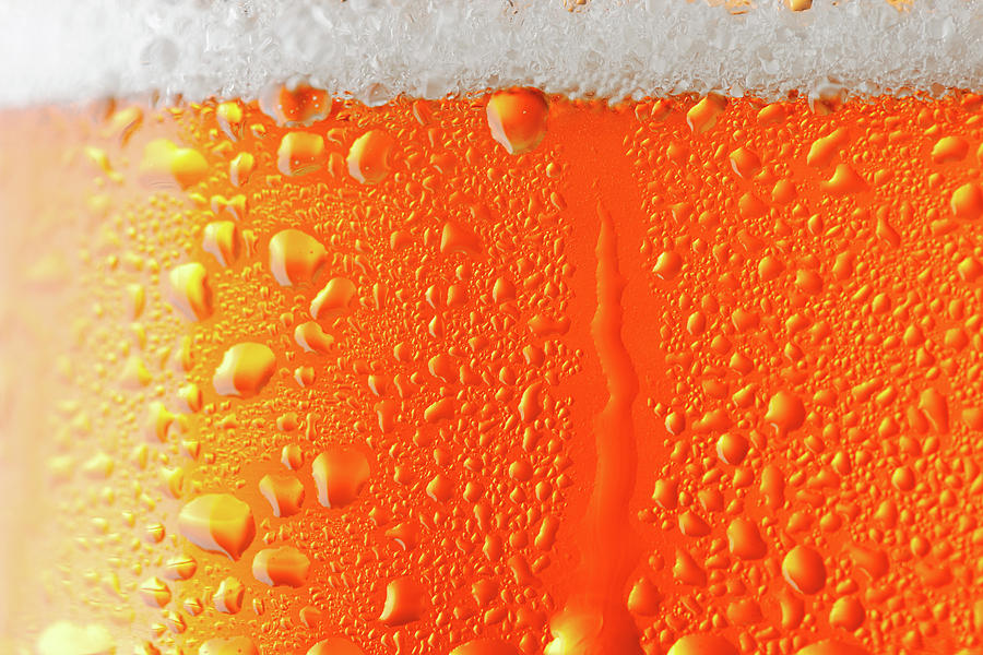 Beer Background Photograph by Ultramarinfoto