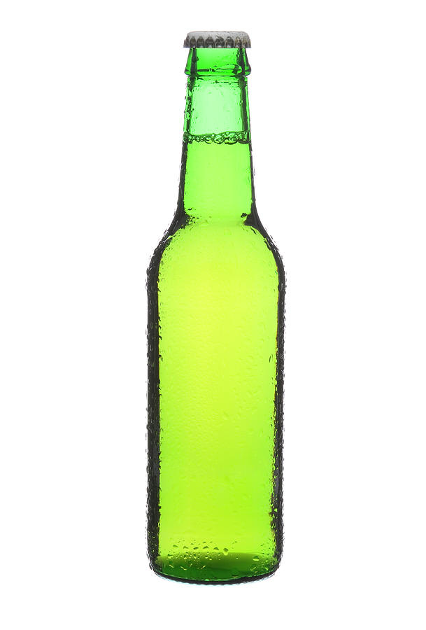 Beer Bottle Photograph by Micropic