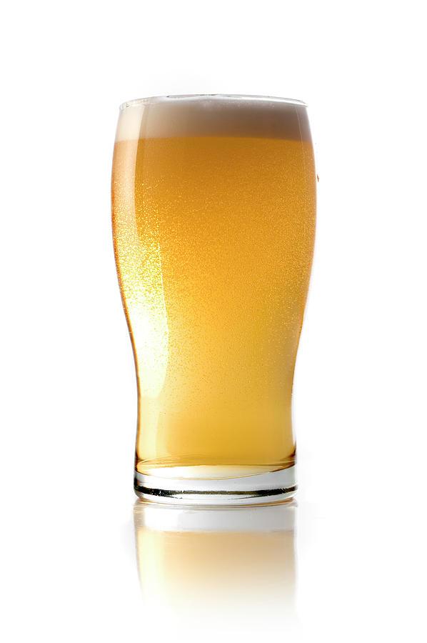 Beer Glass Photograph by Carlosalvarez
