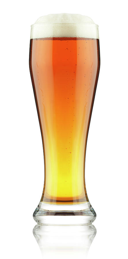 Beer In Glass Photograph by Rjp85