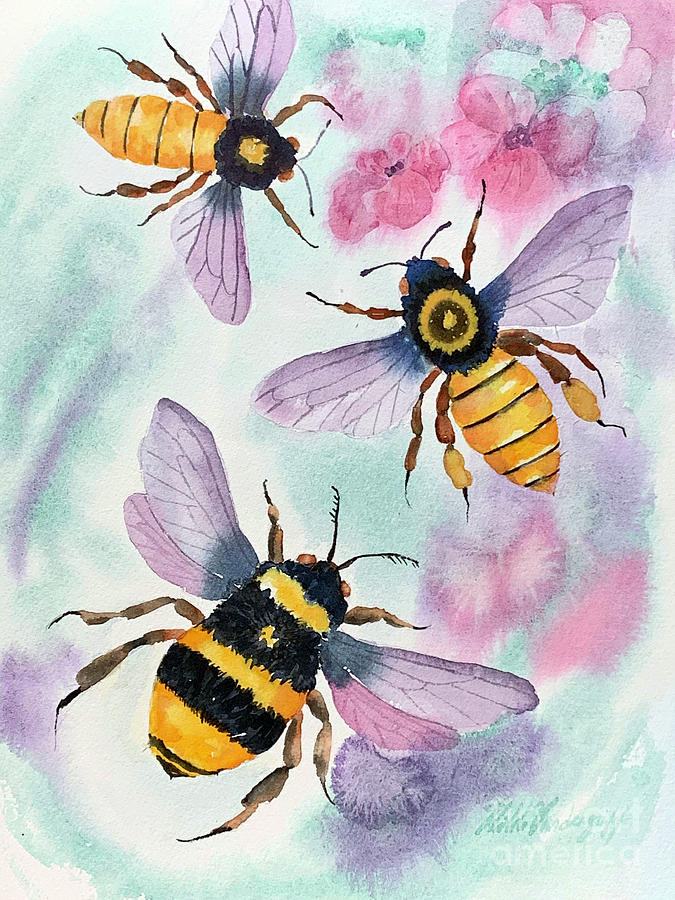 Bees by Hilda Vandergriff