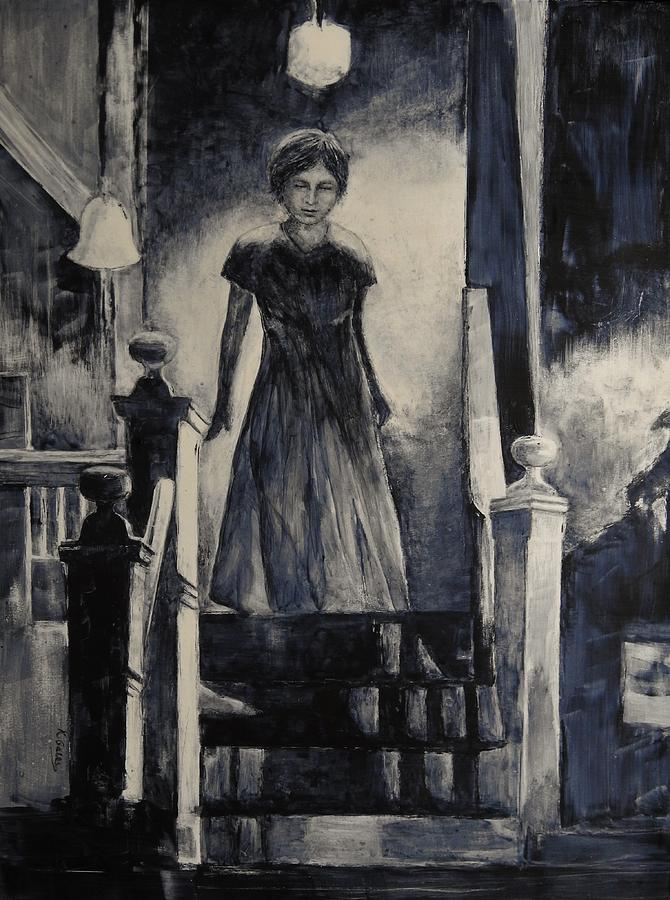 Shadows Mixed Media - Before Dawn by Kathy Gales