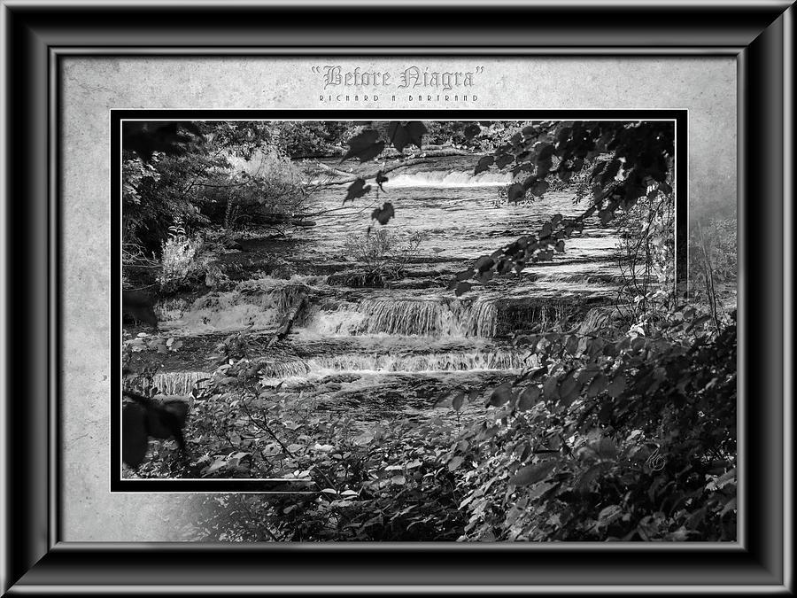 Before Niagara BW by Rick Bartrand