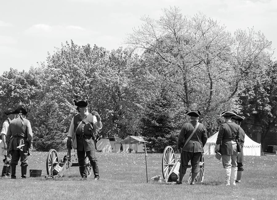 Before The Battle Photograph