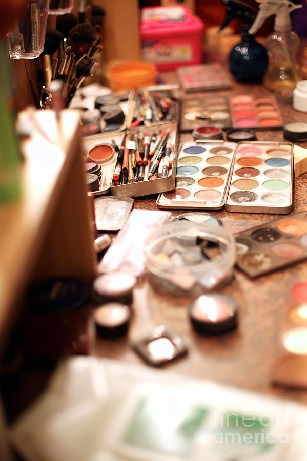 Makeup Photograph - Behind The Scenes, Make-up by Anna Jurkovska