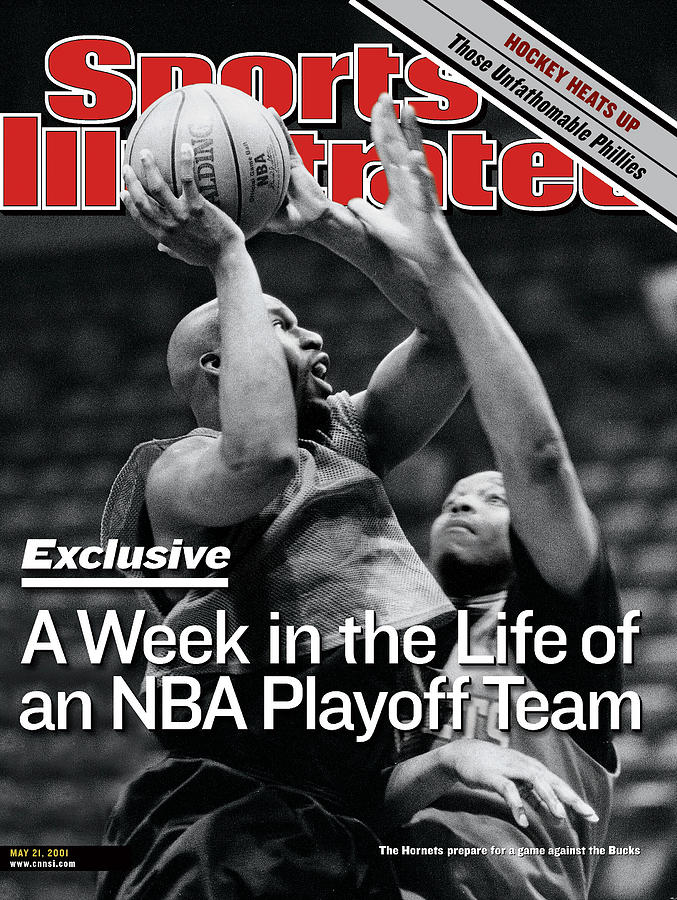 Behind The Scenes With The Charlotte Hornets Sports Illustrated Cover Photograph by Sports Illustrated