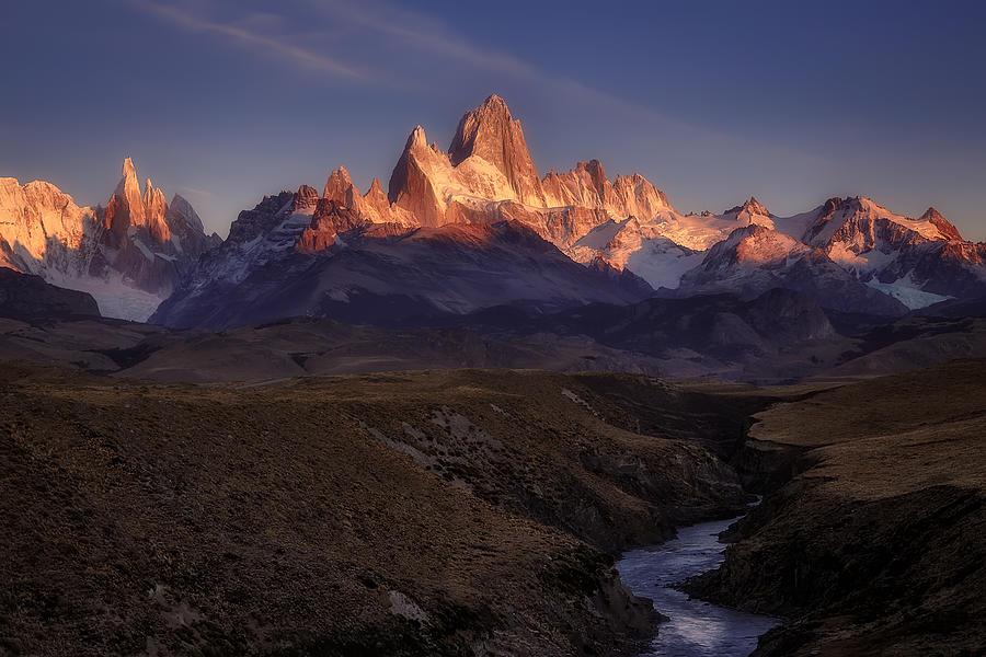 Patagonia Photograph - Behind The Sun by Adhemar Duro