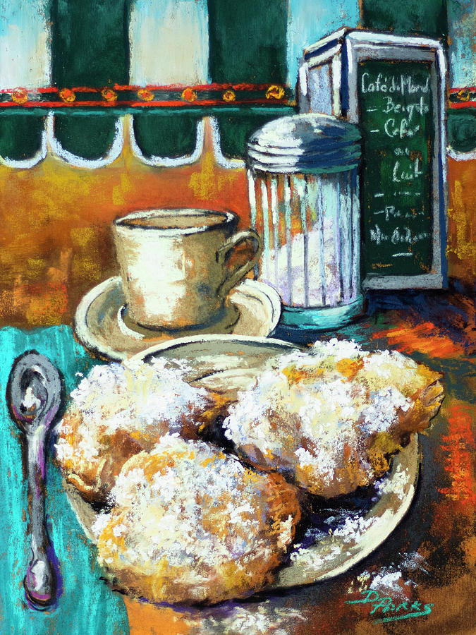 Beignets at Cafe du Monde by Dianne Parks