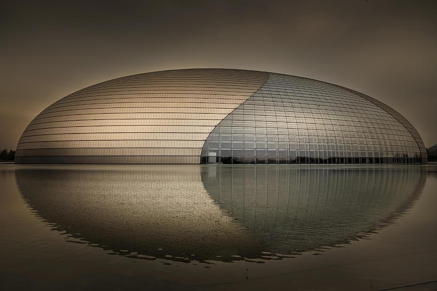 Beijing Photograph - Beijing - Centre For Performing Arts by Michael Jurek